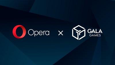 Opera and Gala Games partnership