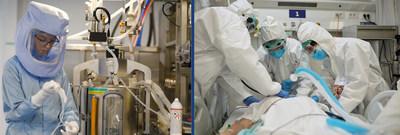 Freudenberg Medical provides tubing solutions for vaccine preparation and oxygen ventilators.