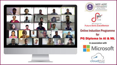 MIT Centre for Future Skills Excellence commences First Batch of PG Diploma in AI & ML in association with Microsoft and CloudThat