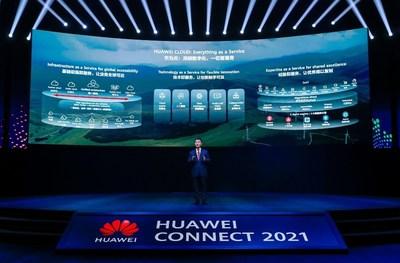 Zhang Ping'an, CEO of HUAWEI CLOUD and President of Huawei Consumer Cloud Service