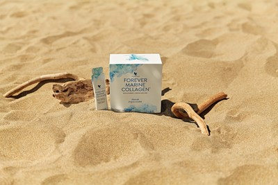 Forever Marine Collagen brings you a highly bioavailable form of premium liquid collagen derived from fish and includes key nutrients from a mixture of pure and essential antioxidants, vitamins, minerals and botanicals, including green tea, Goji berry extract, acerola and vitamins A, C, biotin and zinc.