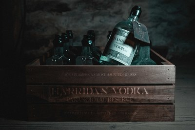 Harridan's limited edition bottles rested in some of America's Most Haunted Houses