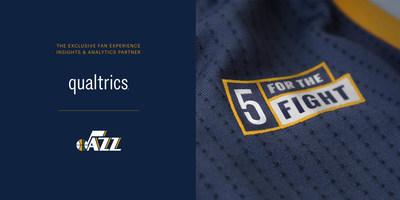 Utah Jazz And Qualtrics Partner To Revolutionize Fan
