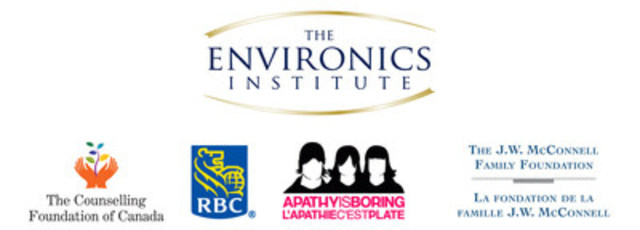 The Canadian Millennials Social Values Study was conducted by the Environics Institute for Survey Research, in partnership with The Counselling Foundation of Canada, RBC, the McConnell Family Foundation and Apathy is Boring. (CNW Group/The Counselling Foundation of Canada)