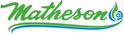 Matheson Trucking, Inc.'s new green and blue logo for its natural gas fleet reflects the company's commitment to expanding its use of clean energy fuels.