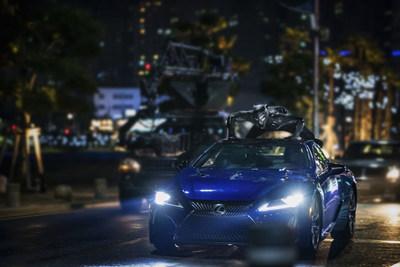 Lexus LC 500 Showcased in Marvel Studios Black Panther