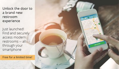 Launching Today In San Francisco: The Good2Go App Grants Access to State of the Art Restrooms