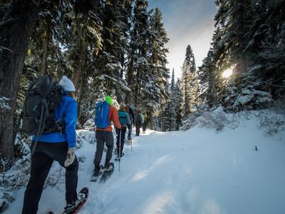 REI Outdoor School snowshoe