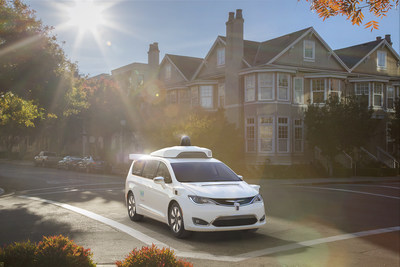 Driverless Car Waymo Ordered Thousands of MiniVans from Fiat Chrysler