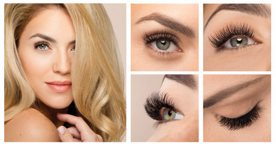 The Xtreme Lashes X-Wrap Eyelash Extension Creates Beautiful, Voluminous Extended Lashes