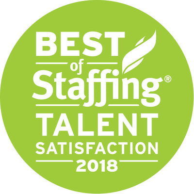 Inavero's 2018 Best Of Staffing® Talent Award