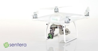 Sentera's Micro Gimbal Upgrade compensates for drone pitch and roll, allowing for more uniform NDVI or NDRE data capture