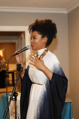 Judith Hill (Singer-Songwriter, The Voice, Michael Jackson) performs at Education Through Music-LA's 4th Annual Music & a Makeover Benefit, March 10, 2018. etmla.org Photo Credit: Danny Moloshok