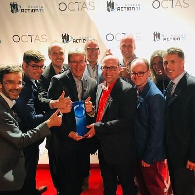 Prestigious Octas award recognizes Rio Tinto technology development (CNW Group/Rio Tinto)