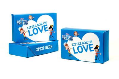 Rice Krispies Treats has partnered with the National Federation of the Blind to create the first-ever accessible 'Love Notes' in the form of Braille stickers and re-recordable audio boxes so parents and family members can share messages of love and encouragement with children who are blind or low-vision. This back-to-school season Rice Krispies Treats wants more children to feel the love.