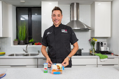 Juicy Juice® And Food Network Chef Jeff Mauro Provide Meal Time Solutions For Busy Back-to-School Season