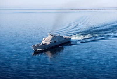 The future USS Sioux City completed Acceptance Trials in Lake Michigan this summer.