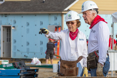 Whirlpool Corporation to support Habitat for Humanity's 2018 Jimmy & Rosalynn Carter Work Project in Indiana