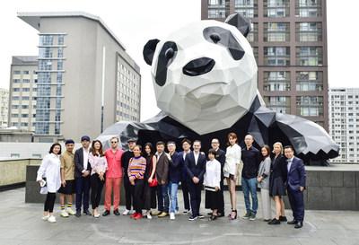 Chengdu Parcours Art Festival Opens at Chengdu IFS, revealing Art to the Public