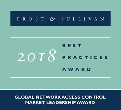 2018 Global Network Access Control Market Leadership Award