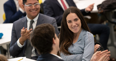 One hundred percent of Babson students take action toward starting a business.