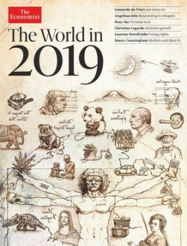 "The world looks wobbly"" according to The World in 2019"