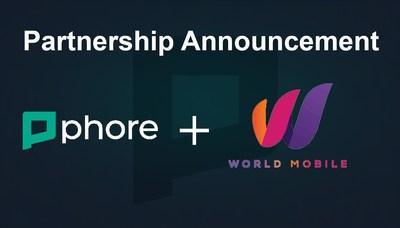 Phore Blockchain and World Mobile telecom announce partnership.