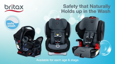 Britax® SafeWash™ Car Seats – Safety That Naturally Holds Up in the Wash