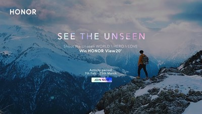 'See The Unseen' photography challenge featured on HONOR Gallery