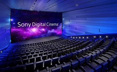 Sony Digital Cinema Premium Large-format Auditorium (simulated image)