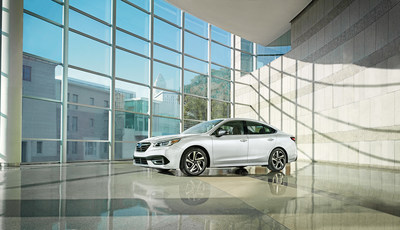The seventh-generation Legacy features dynamic and premium styling inside and out. (CNW Group/Subaru Canada Inc.)