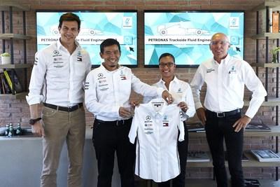 PETRONAS presenta a su nuevo ingeniero de fluidos en pista de Fórmula 1