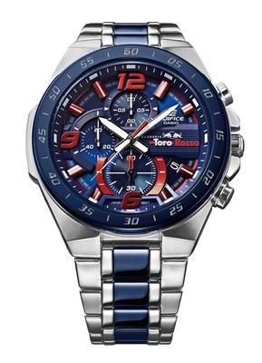 The new Casio EDIFICE Scuderia Toro Rosso Limited Edition chronograph EFR-564TR