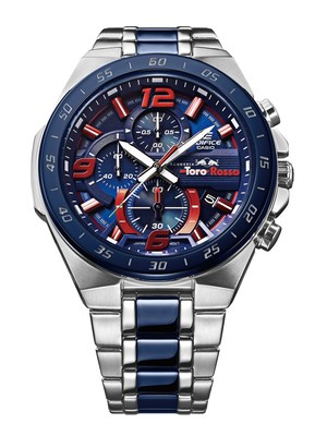 The new Casio EDIFICE Scuderia Toro Rosso Limited Edition chronograph EFR-564TR