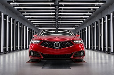 With production starting this summer, the PMC will produce just 360 units of the 2020 TLX PMC Edition, to be built by the same master technicians that hand assemble the Acura NSX supercar.