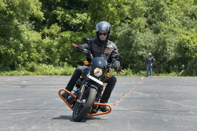 For those off campus, H-D Riding Academy is offered at select Harley-Davidson dealers and provides expert guidance on basic motorcycle functions, rider safety skills and confidence boosting practice rides.