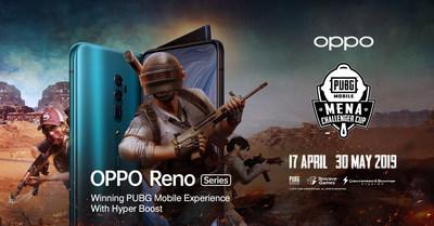 OPPO sponsorship of PUBG Mobile MENA championship 2019