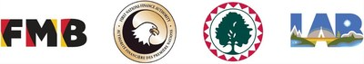 Logos: Financial Management Board, First Nations Finance Authority, First Nations Tax Commission and First Nations Lands Advisory Board (CNW Group/Financial Management Board)