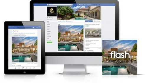 FlashCards videos help real estate listings stand out in social media feeds.