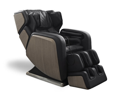 The DreamWave R.6 luxury full-body shiatsu massage chair's mid-century modern design, unparalleled craftsmanship and advanced massage choreography makes it the perfect addition to any tastefully appointed home or office.