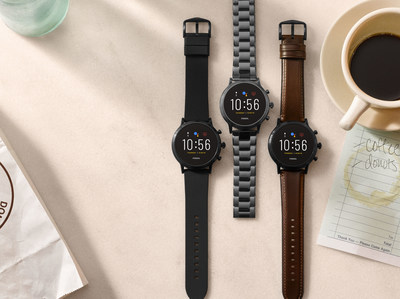 Fossil Group will launch nextgen smartwatches this fall/holiday season. Pictured: Fossil Gen 5 touchscreen smartwatches.