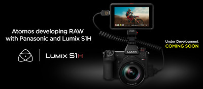 Atomos and Panasonic announce 35mm full-frame RAW video over HDMI from the Lumix S1H to Ninja V