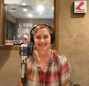 """Kristin Makholm in the book on AM950's """"A Woman's Place"""""""
