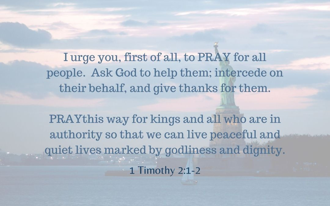 Biblical Obedience – Praying for Those In Authority
