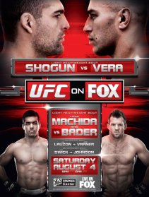 Pôster do UFC On FOX 4