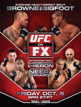 Pôster do UFC On FX 5