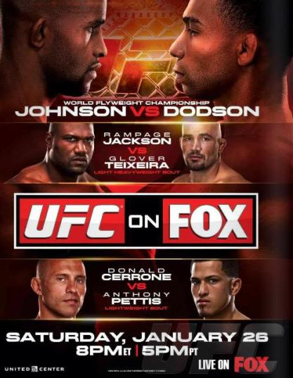 Pôster do UFC On FOX 6