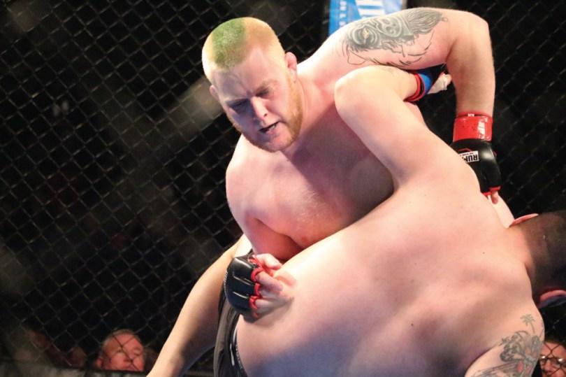 Josh Heinz Rumble in the Cage 58