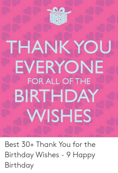 How To Thank Everyone For Birthday Wishes : thank, everyone, birthday, wishes, Thanks, Everyone, Wishing, Happy, Bithday