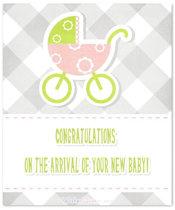 Congratulating On A New Baby : congratulating, Wishes, Congratulations